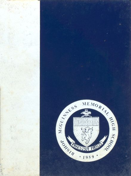 1978 Bishop McGuinness High School Yearbook Cover