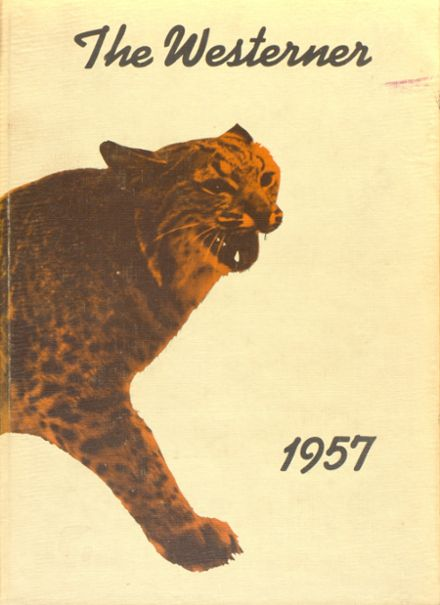 1957 San Angelo Central High School Yearbook Cover