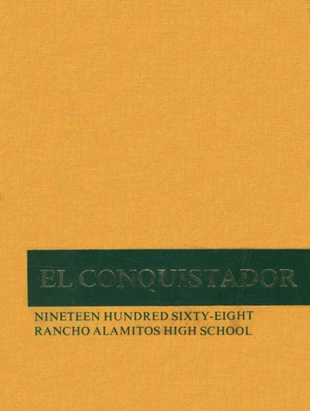 1968 Rancho Alamitos High School Yearbook Cover