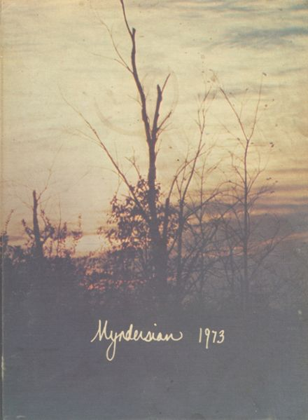 1973 Mynderse Academy Yearbook Cover