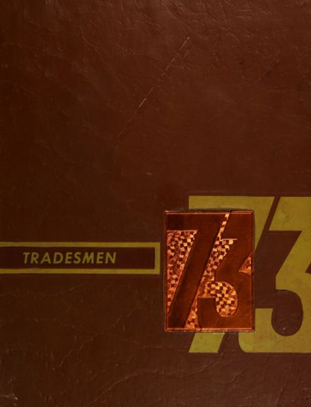 1973 Max S. Hayes Vocational High School Yearbook Cover