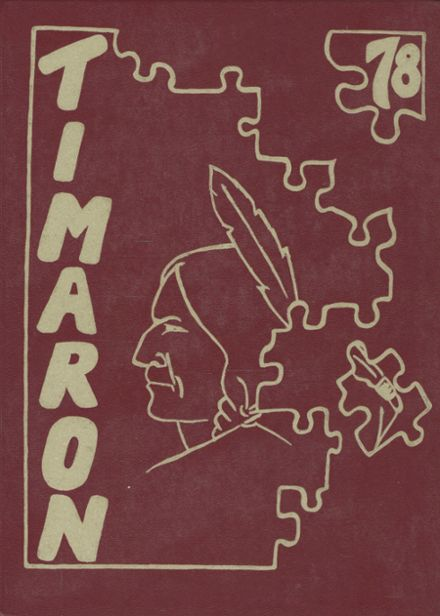 1978 Middleborough High School Yearbook Cover