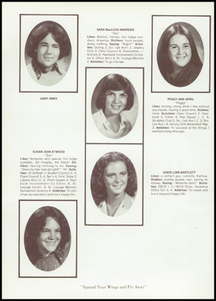 1978 Middleborough High School Yearbook Page 8