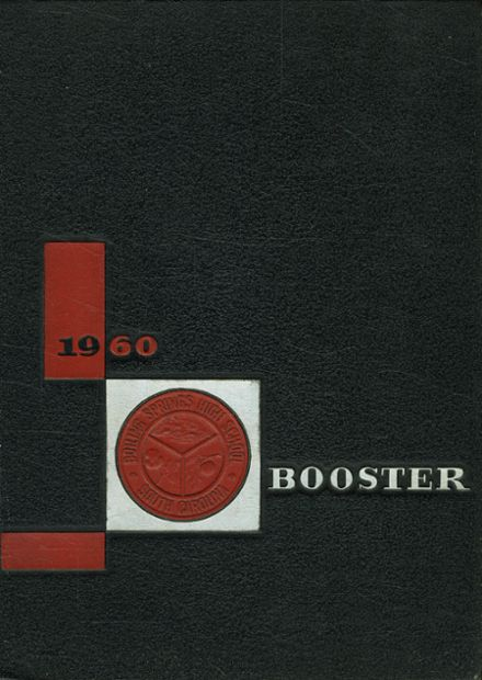 1960 Boiling Springs High School Yearbook Cover