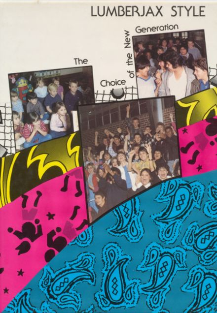 1987 Wright City High School Yearbook Cover