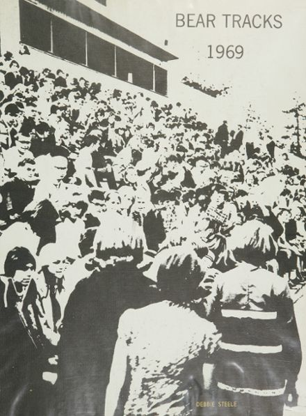 1969 Bend High School Yearbook Cover