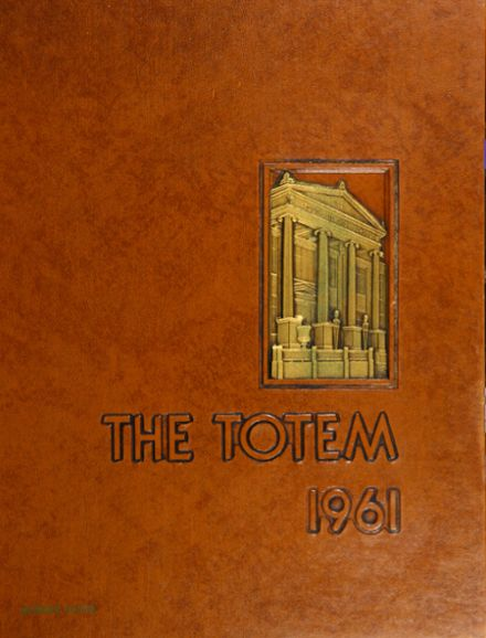 1961 South Side High School Yearbook Cover