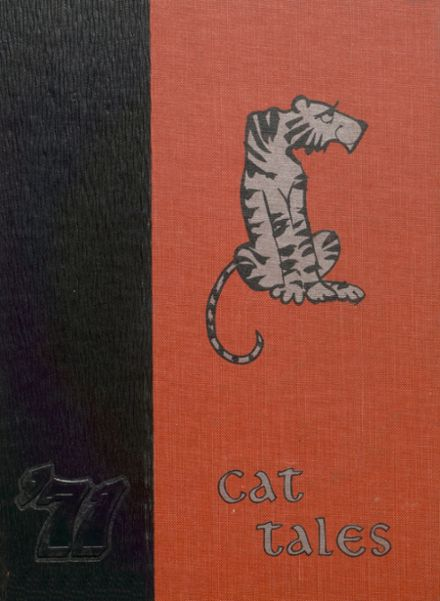 1971 North Union High School Yearbook Cover