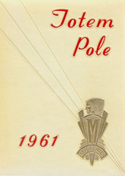 1961 Milford High School Yearbook Cover