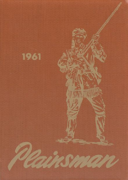 1961 Pleasant Plains High School Yearbook Cover
