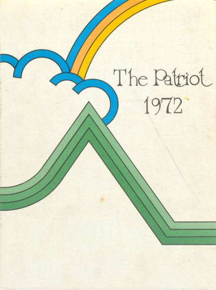 1972 Cherry Creek High School Yearbook Cover