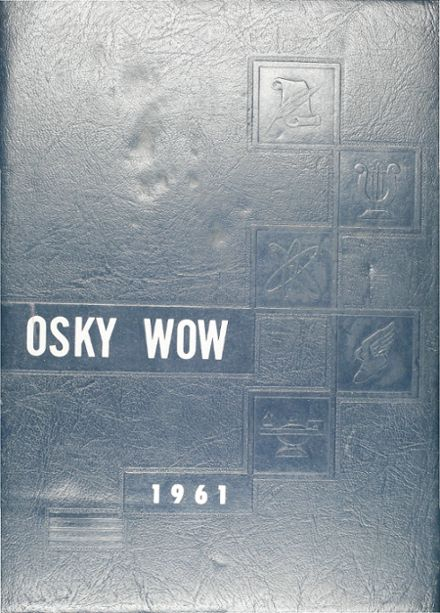 1961 Jackson High School Yearbook Cover