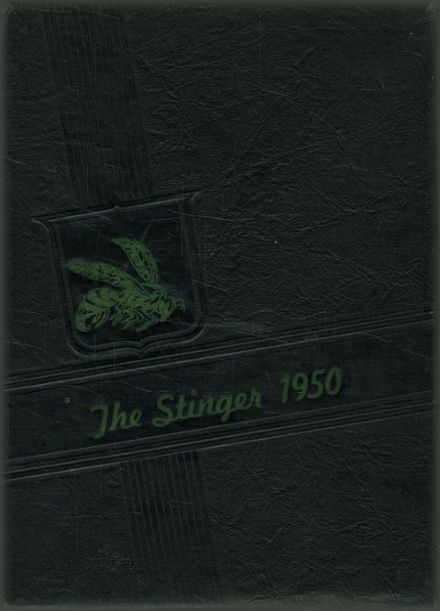 1950 Vincent High School Yearbook Cover