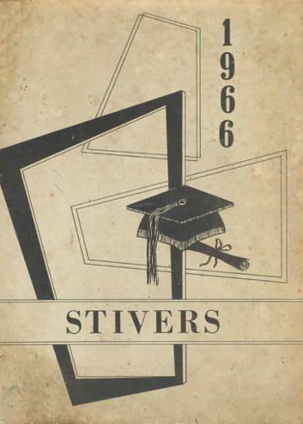 1966 Stivers High School Yearbook Cover