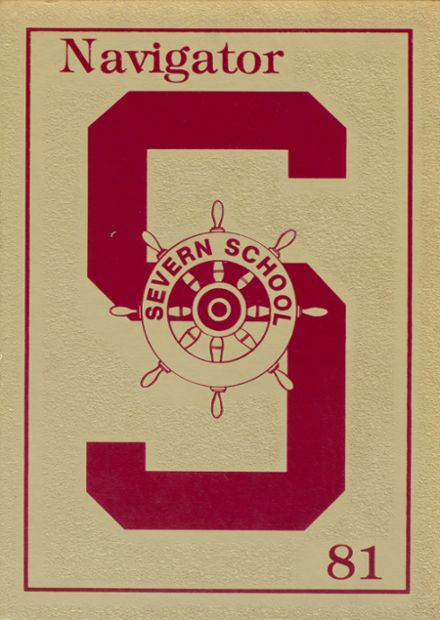 1981 Severn School Yearbook Cover