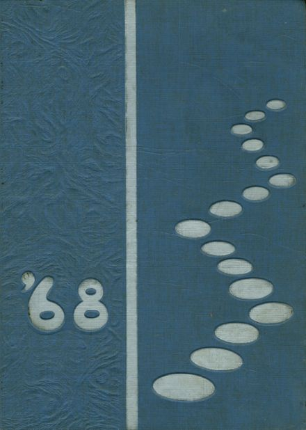 1968 Franklin Regional High School Yearbook Cover