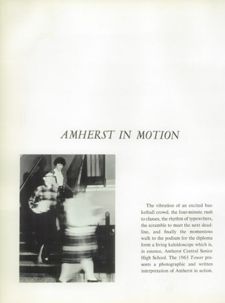 1963 Amherst Central High School Yearbook Page 6