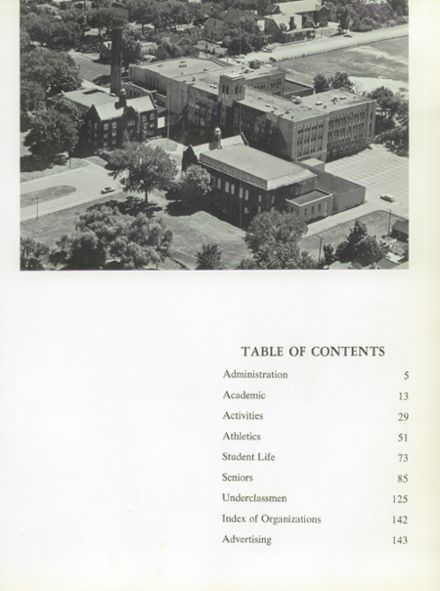 1963 Amherst Central High School Yearbook Page 7