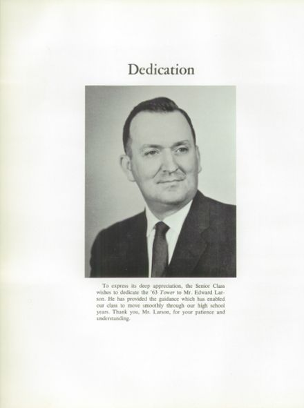 1963 Amherst Central High School Yearbook Page 8