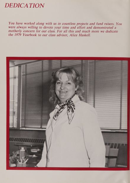 1979 Wolcott Technical High School Yearbook Page 6