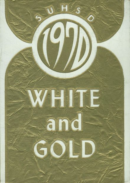 1970 Weed High School Yearbook Cover