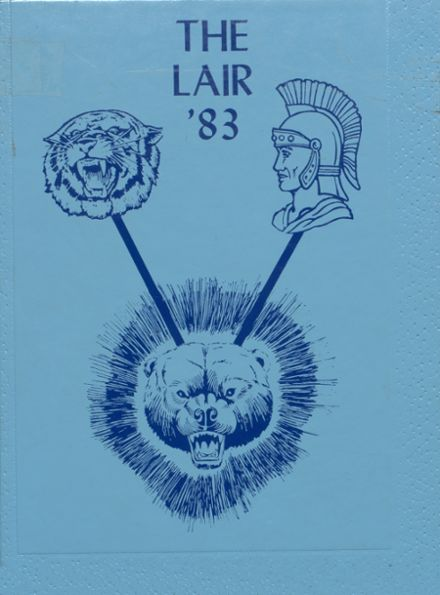 1983 Bartlesville Mid High School Yearbook Cover