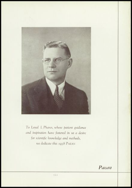 1938 Battle Creek Central High School Yearbook Page 9