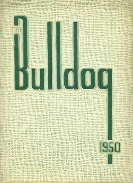 1950 Trimble Technical High School Yearbook Cover