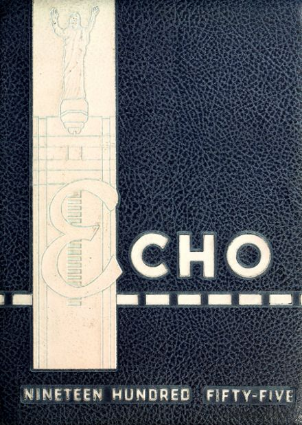1955 Central Catholic High School Yearbook Cover
