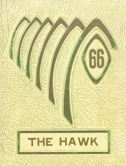 1966 Woodward Community High School Yearbook Cover