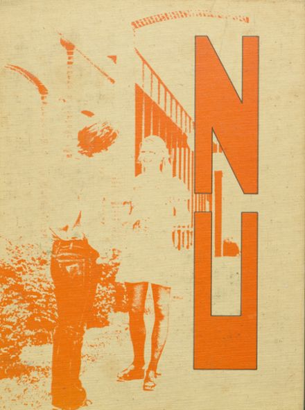 1974 North Union High School Yearbook Cover