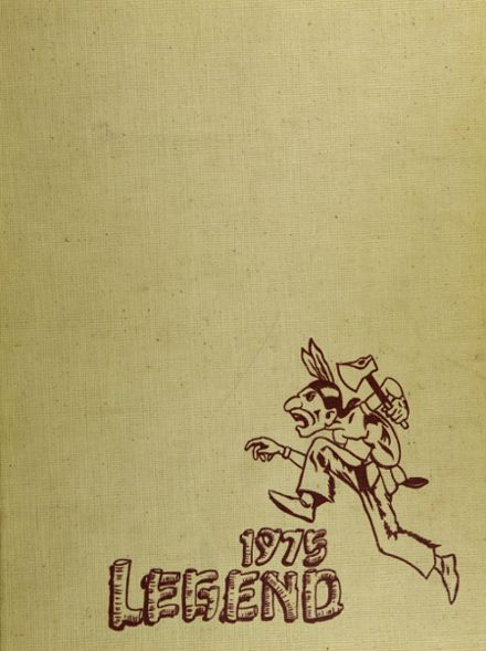 1975 North Side High School Yearbook Cover