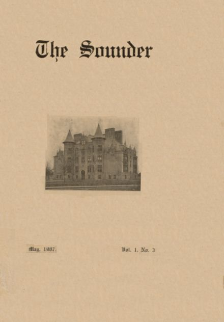 1907 Northside High School Yearbook Cover