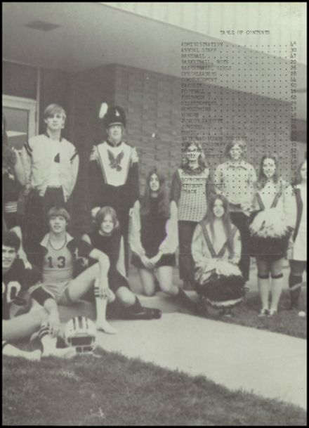 1973 Louisa-Muscatine High School Yearbook Page 6
