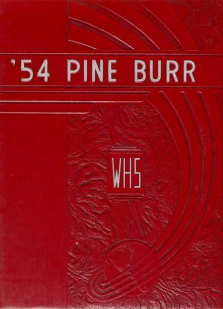 1954 Weiser High School Yearbook Page 1