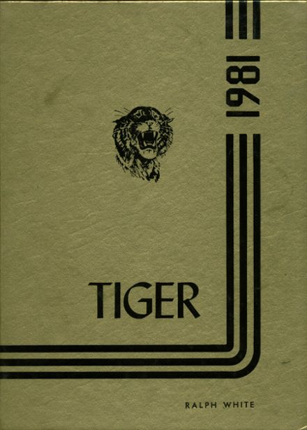 1981 Ardmore High School Yearbook Cover