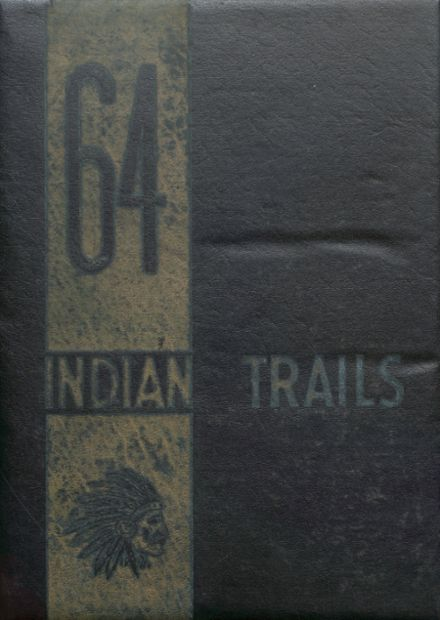 1964 Indianola High School Yearbook Cover