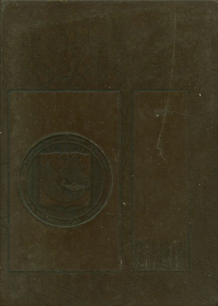 1968 Brown High School Yearbook Cover