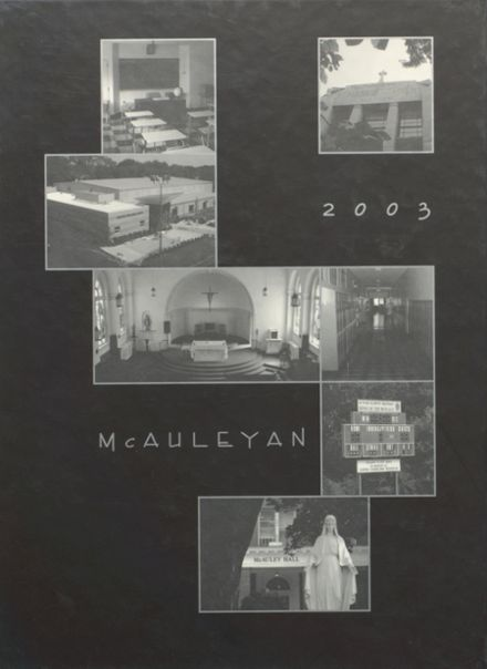 2003 St. Mary's High School Yearbook Cover