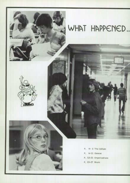 1976 Randolph High School Yearbook Page 6