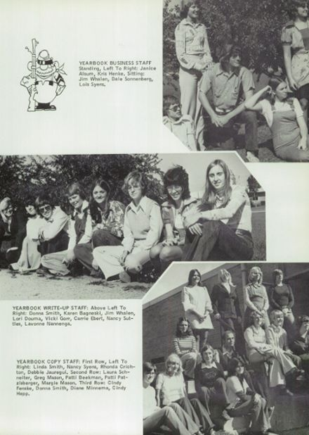 1976 Randolph High School Yearbook Page 9