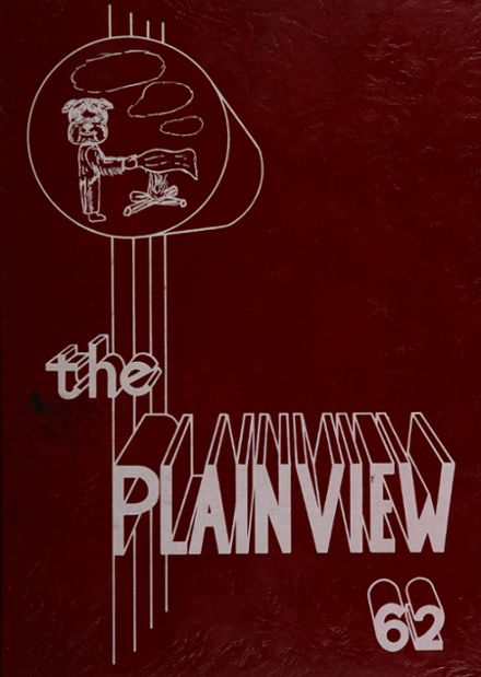 1962 Plainview High School Yearbook Cover