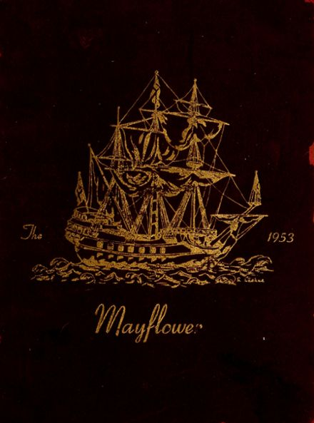 1953 Greater Boston Academy Yearbook Cover