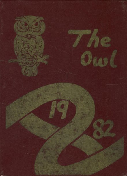 1982 Bloomfield High School Yearbook Cover