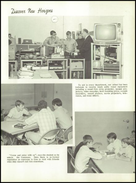 1970 River Falls High School Yearbook Page 7