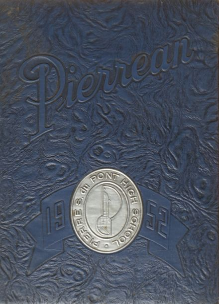 1952 P.S. DuPont High School Yearbook Cover