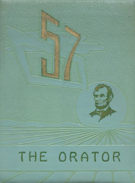 1957 Lincoln High School Yearbook Cover