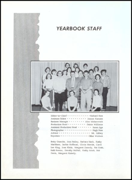 1957 Lincoln High School Yearbook Page 6
