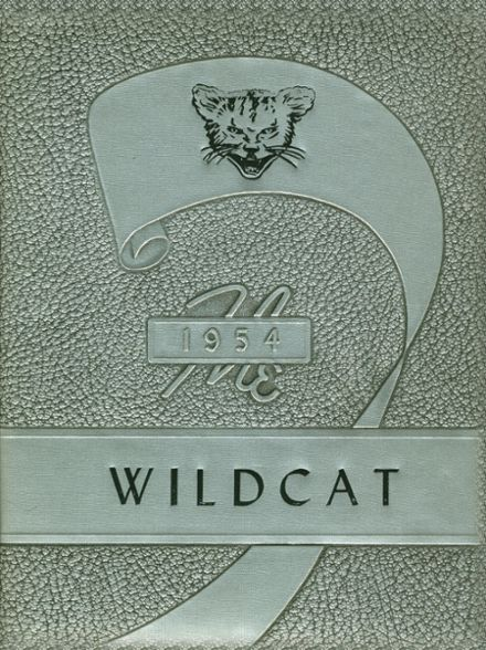 1954 Whitehouse High School Yearbook Cover