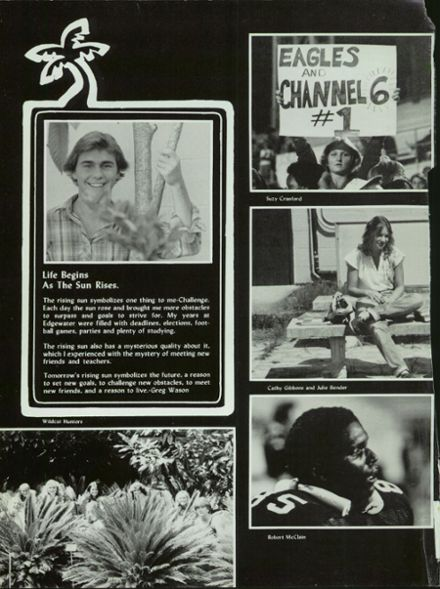 1981 Edgewater High School Yearbook Page 6
